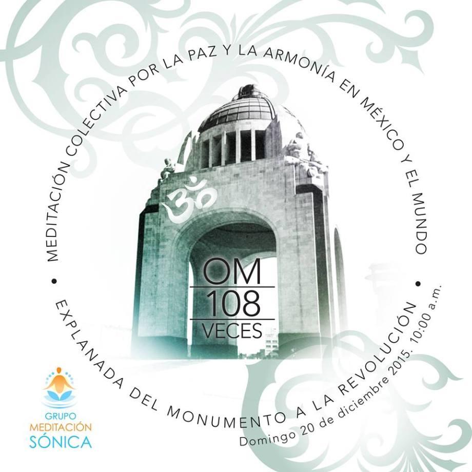 Meditación por la Paz y la Armonia en México 2015